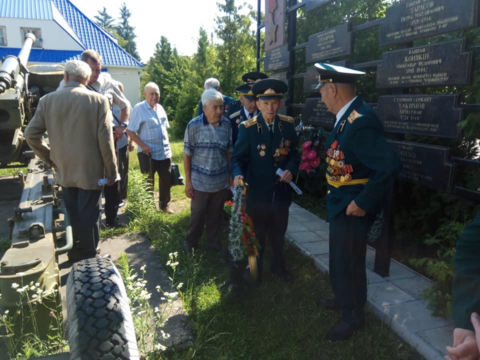 На Волині відзначили 75-ту річницю визволення від фашистських загарбників та почастували ветеранів. ФОТО