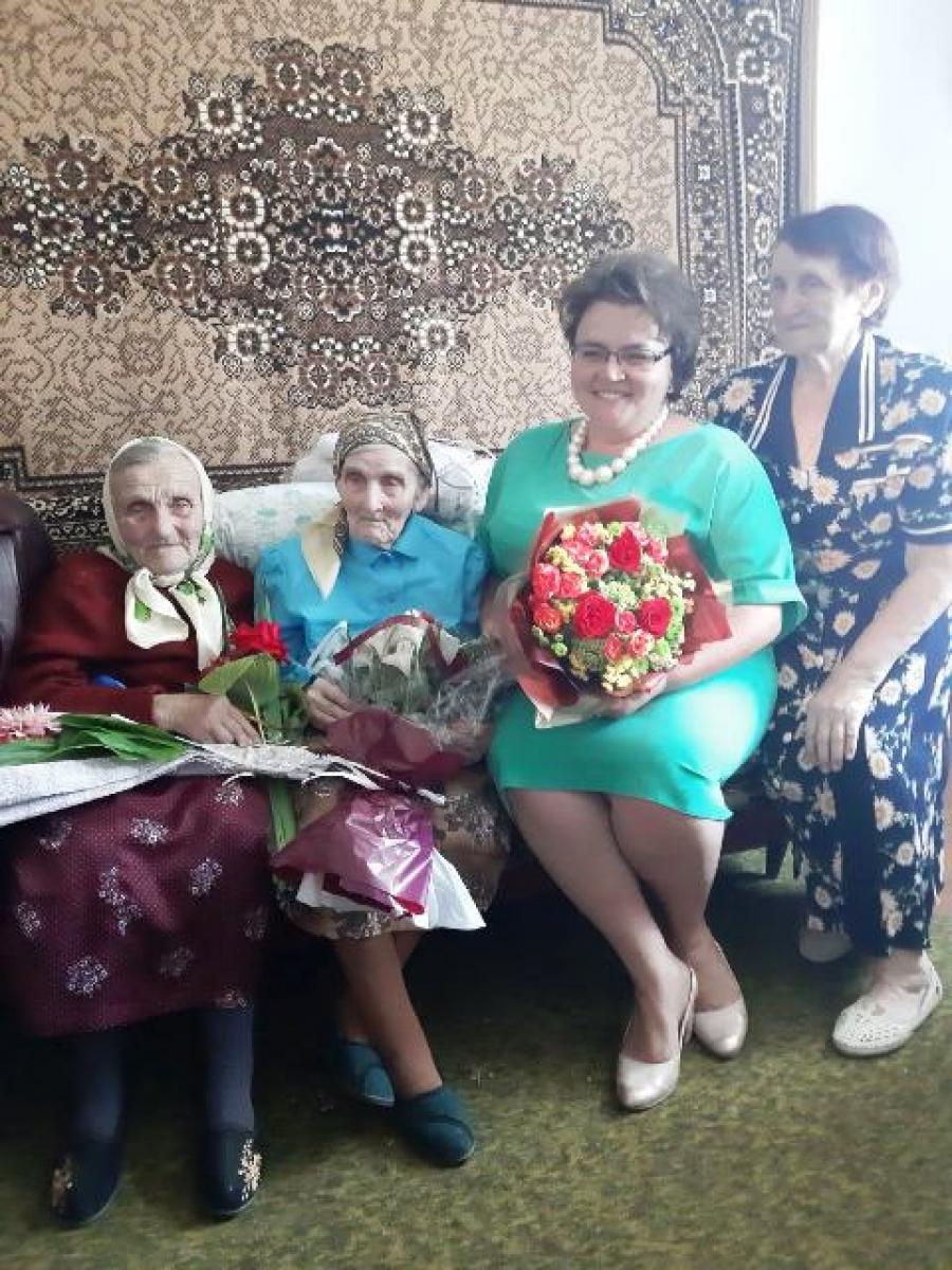 Жительку Волині привітали зі 100-річним ювілеєм