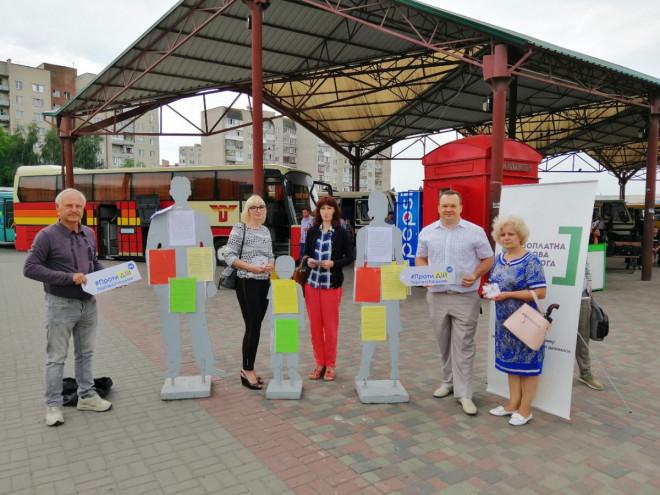 У Луцьку проводять інформаційну кампанію до Всесвітнього дня боротьби з торгівлею людьми