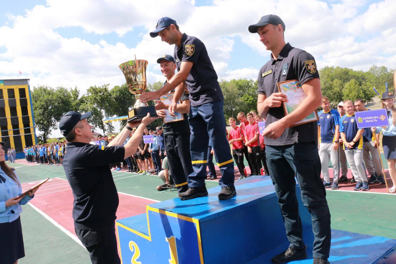 Волинські рятувальники здобули перемогу на чемпіонаті ДСНС України з пожежно-прикладного спорту