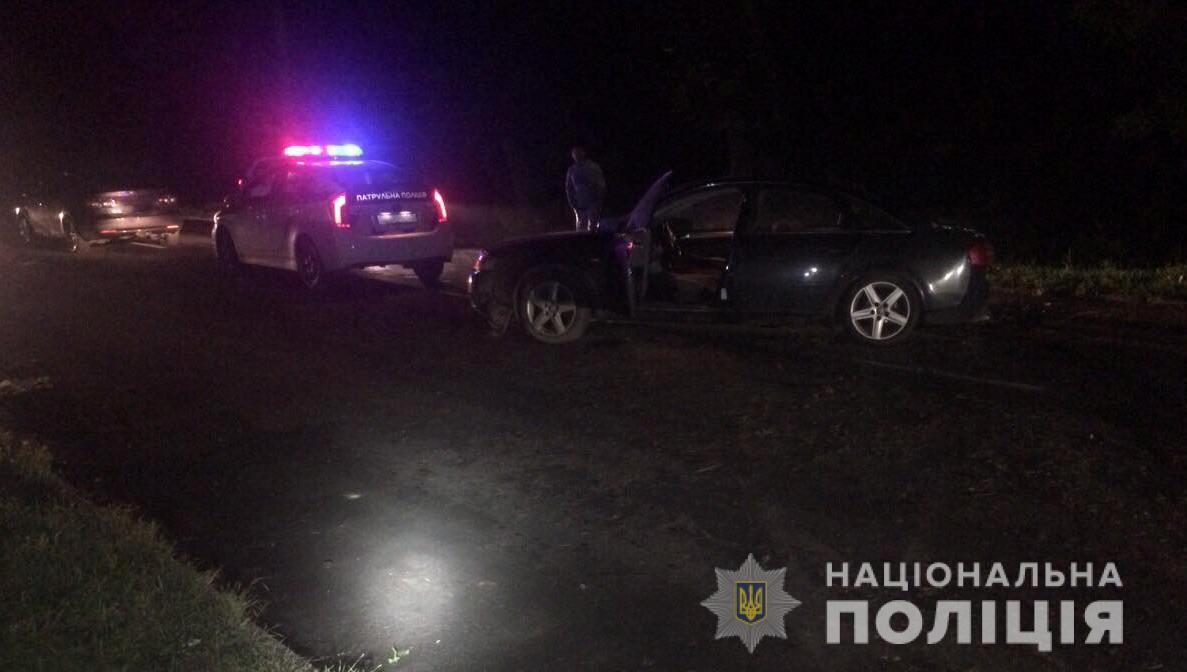 ДТП у Луцьку: автомобіль врізався в електроопору