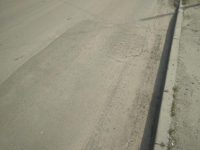 У Луцьку скаржаться на неякісний ремонт дороги