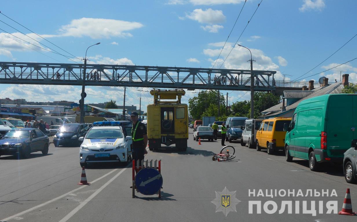 У Луцьку внаслідок смертельної ДТП з велосипедистом розпочали кримінальне провадження