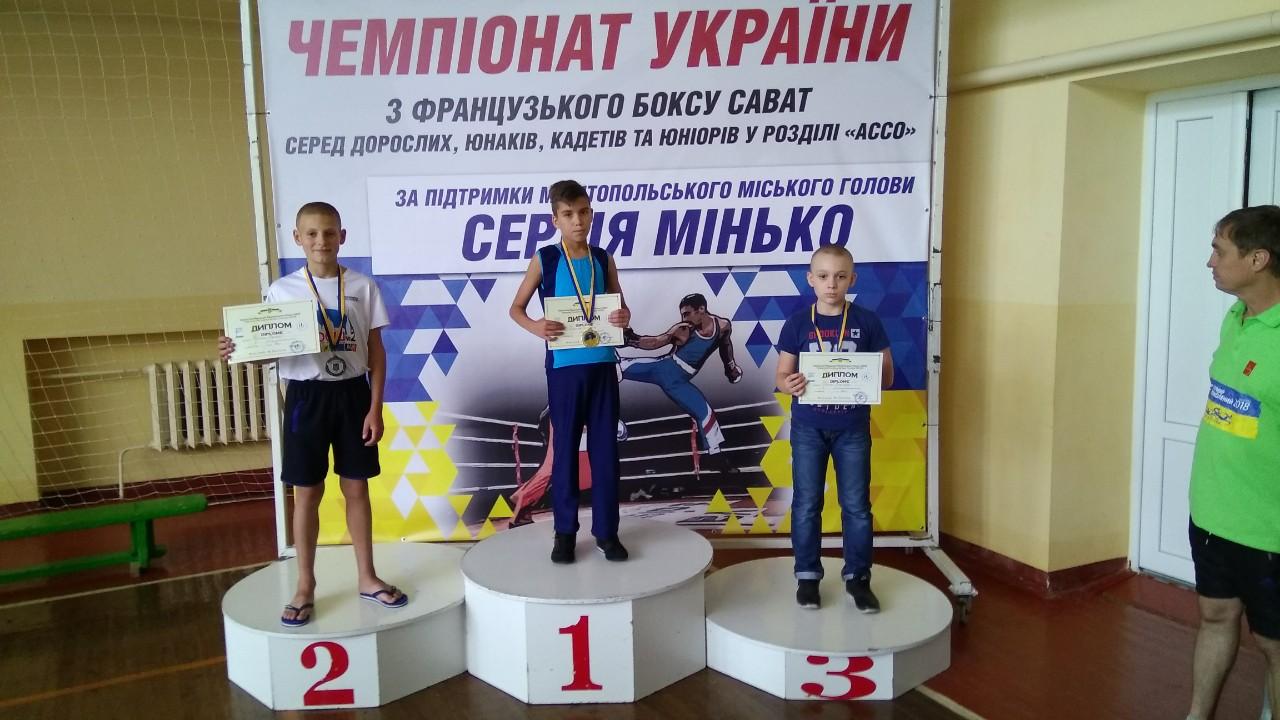 Волиняни здобули нагороди у змаганнях із французького боксу