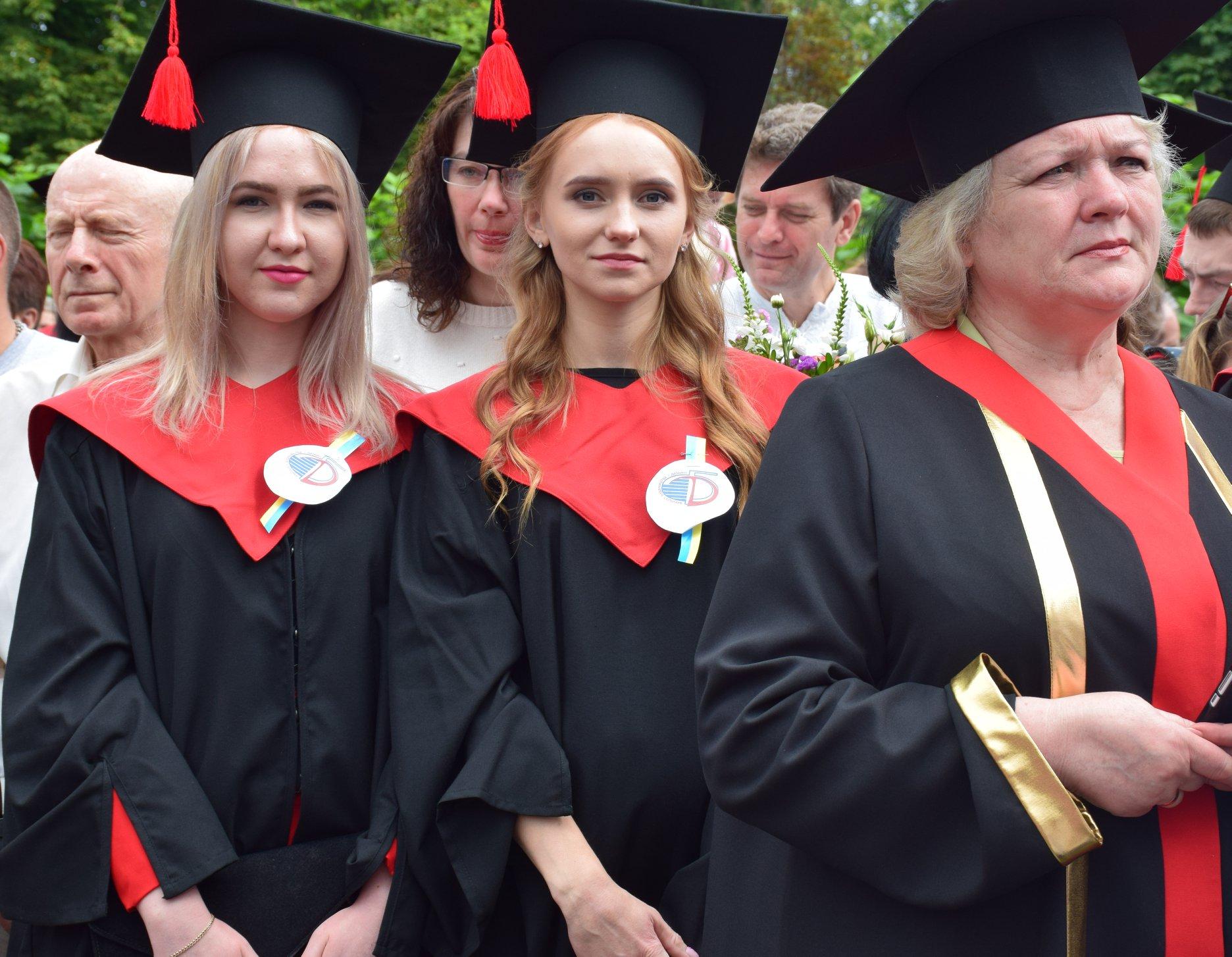 У Луцькому національному технічному університеті вручили дипломи бакалаврам. ФОТО