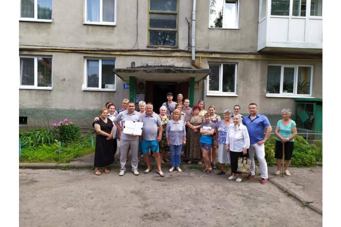 У Луцьку ремонт прибудинкової території на проспекті Перемоги розпочнуть у серпні