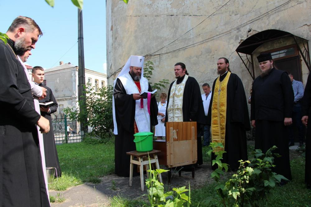 У Луцьку освятили чоловічий монастир