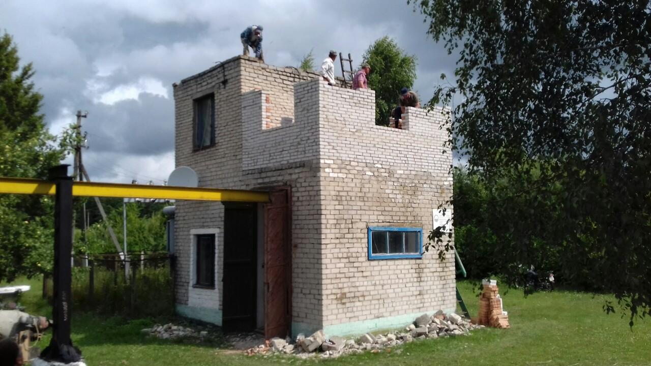 У селі на Волині ремонтують нососну станцію