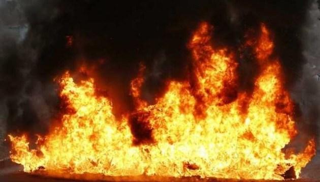 У Росії палає нафтопереробний завод