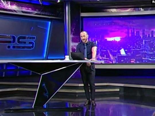 Грузинський телеведучий в прямому ефірі обматюкав Путіна. ВІДЕО 18+