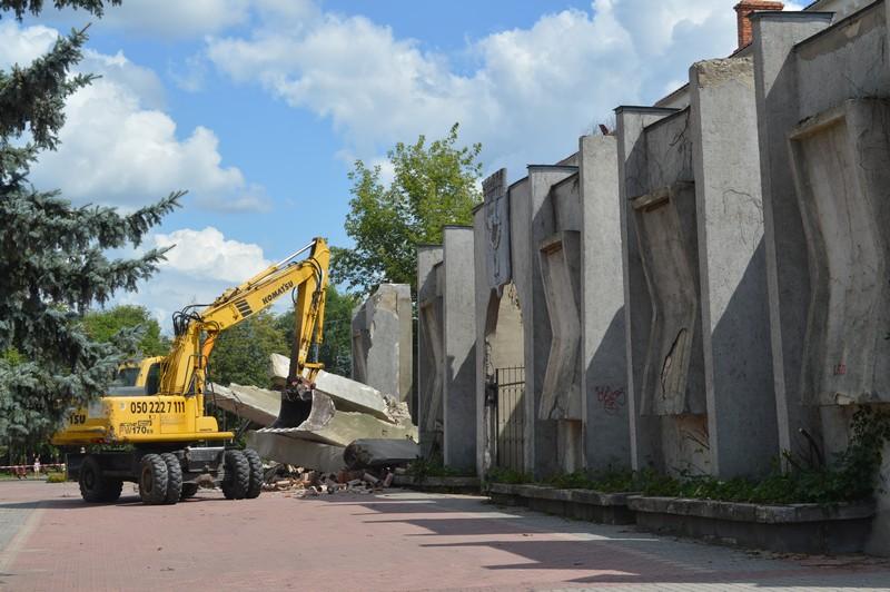 У Ковелі реконструюють центральну частину міста