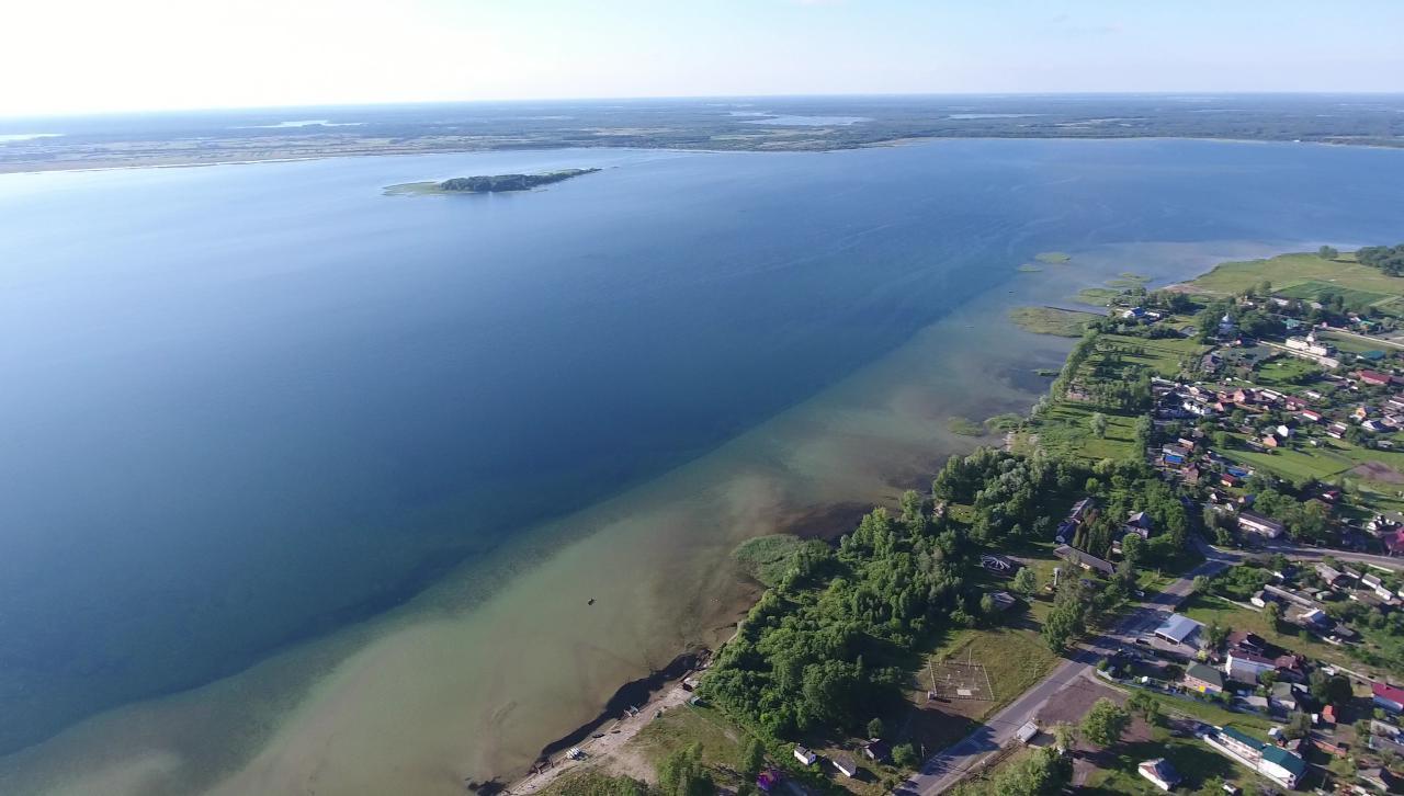 Міліти найглибше озеро України продовжує: озеро Світязь обміліло більше, ніж на пів метра