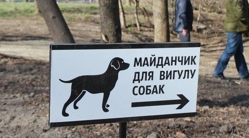 Лучанка скаржиться на відсутність місць для вигулу тварин