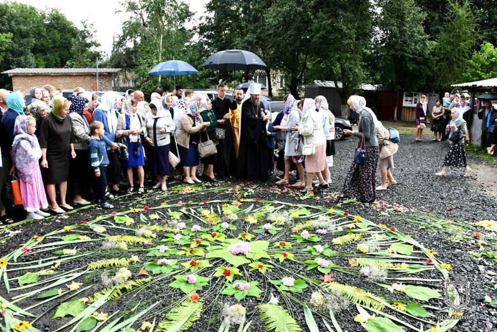 Єпископ Волинський і Луцький Нафанаїл відсвяткував ювілей. ФОТО