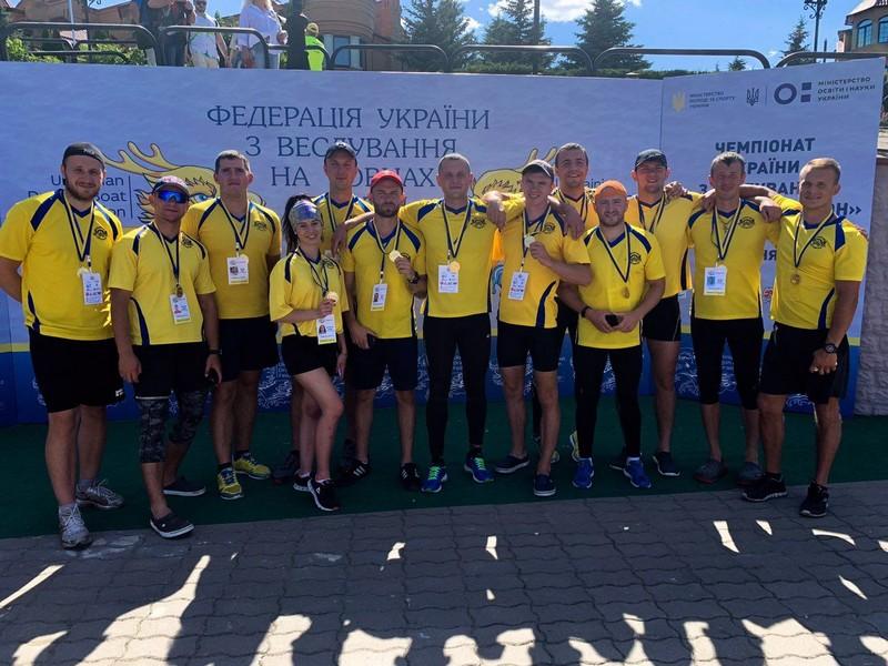 Ковельська команда — чемпіон України з веслування на човнах «Дракон». ФОТО