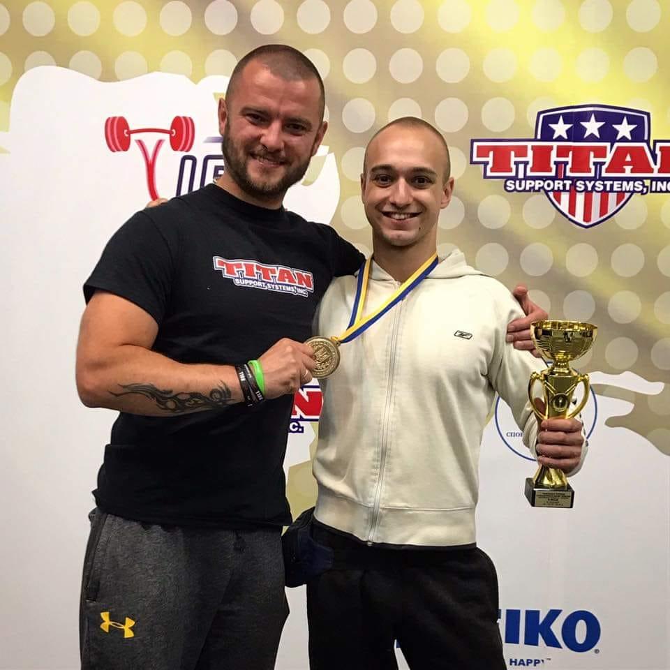 Лучанин у свій день народження став чемпіоном України серед юніорів з класичного жиму лежачи