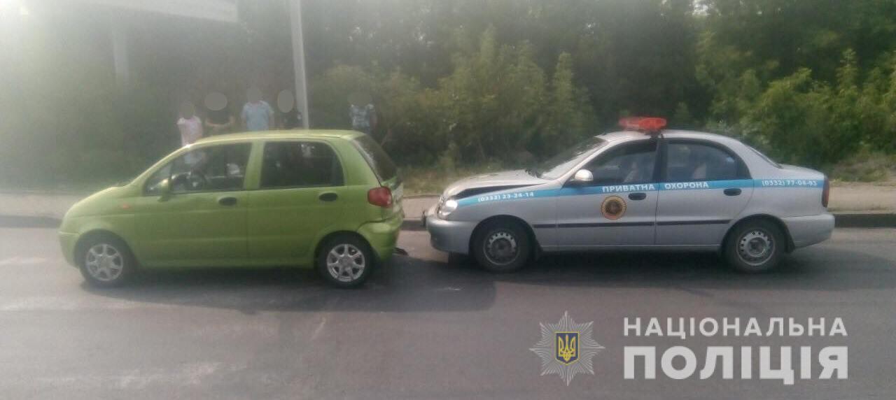 У ДТП в Луцьку постраждала 7-річна дитина