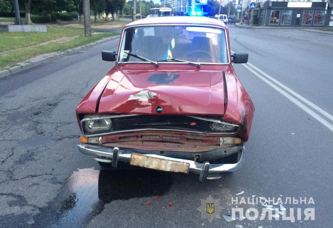 Унаслідок ДТП в Луцьку постраждала жінка
