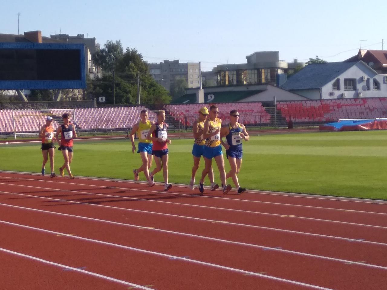 У Луцьку стартувала програма легкоатлетичних змагань