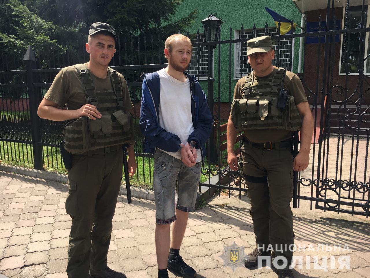 У Луцьку затримали чоловіка, який втік з-під варти