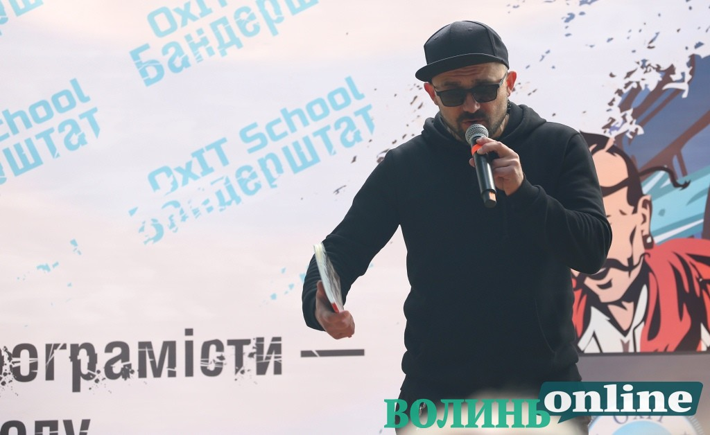 Націонал-кучміст і наддніпрянський шовініст презентував на «Бандерштаті» «лірику і ху*рику»