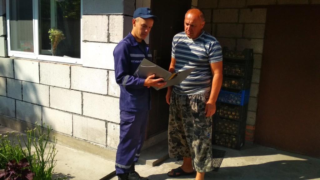 Волинські рятувальники провели пожежно-профілактичні рейди в житловому секторі