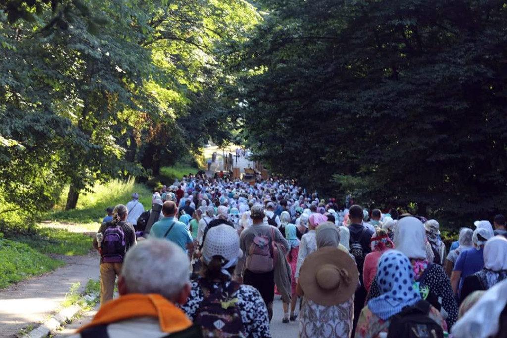 УПЦ МП збирається у Луцьку на Хресний хід