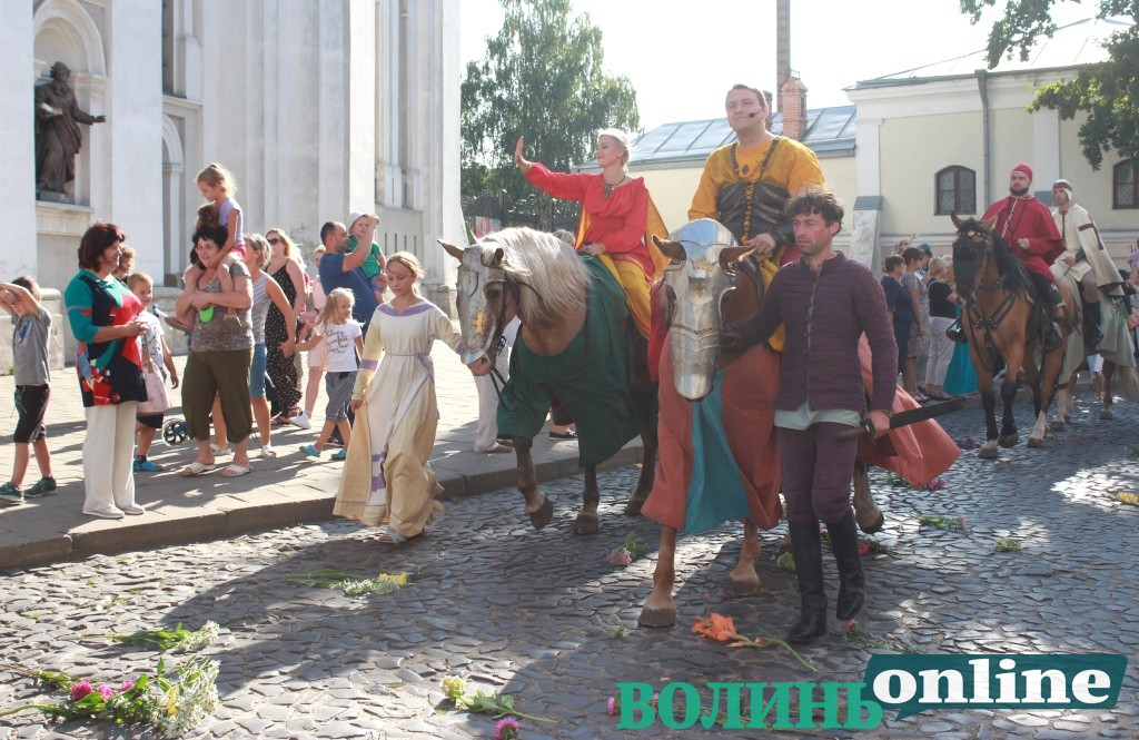 У Луцьку відбувся «Князівський бенкет». ФОТОРЕПОРТАЖ