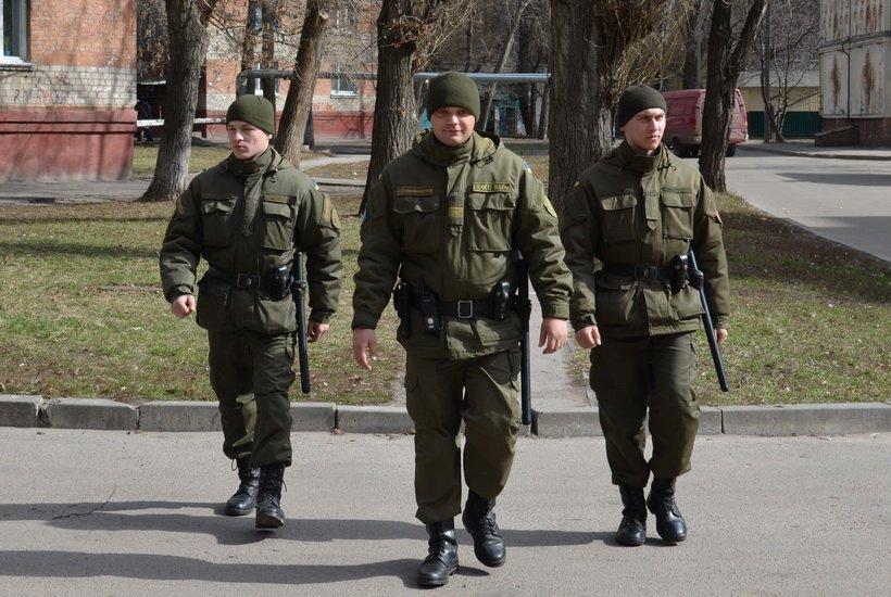 Луцьк патрулюватимуть військовослужбовці Національної гвардії України