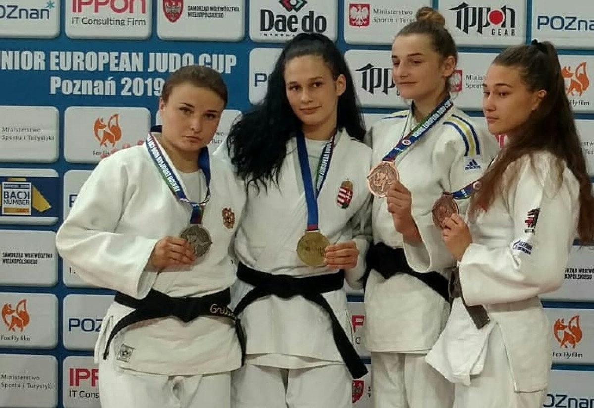 Волинянка стала бронзовою призеркою Кубку Європи з дзюдо