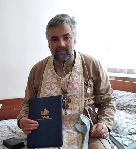 Капелан з Волині отримав грамоту Верховної Ради України