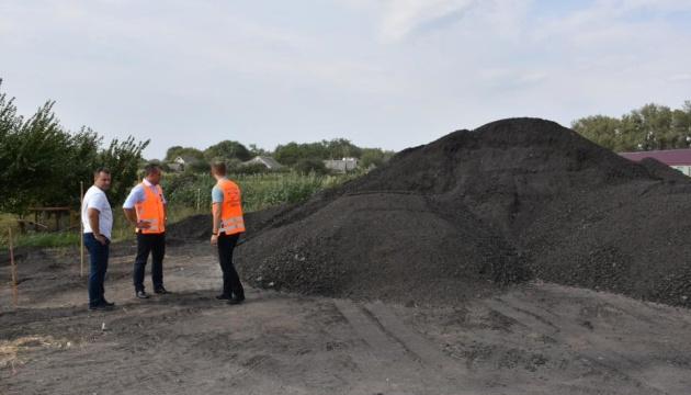 На Полтавщині місцеві можновладці вкрали 200 тонн асфальту