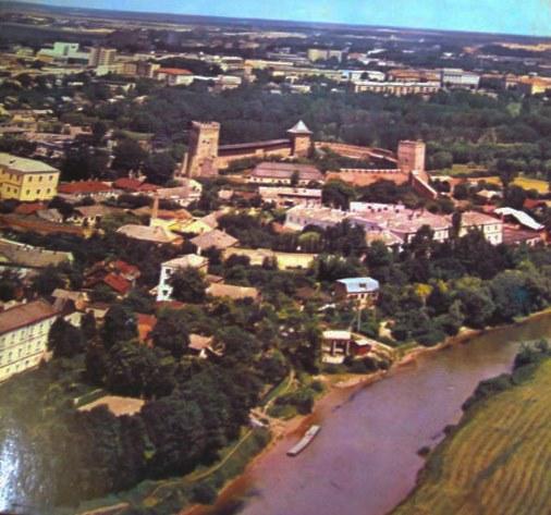 Лучанам показали панораму на Луцьк 41 рік тому