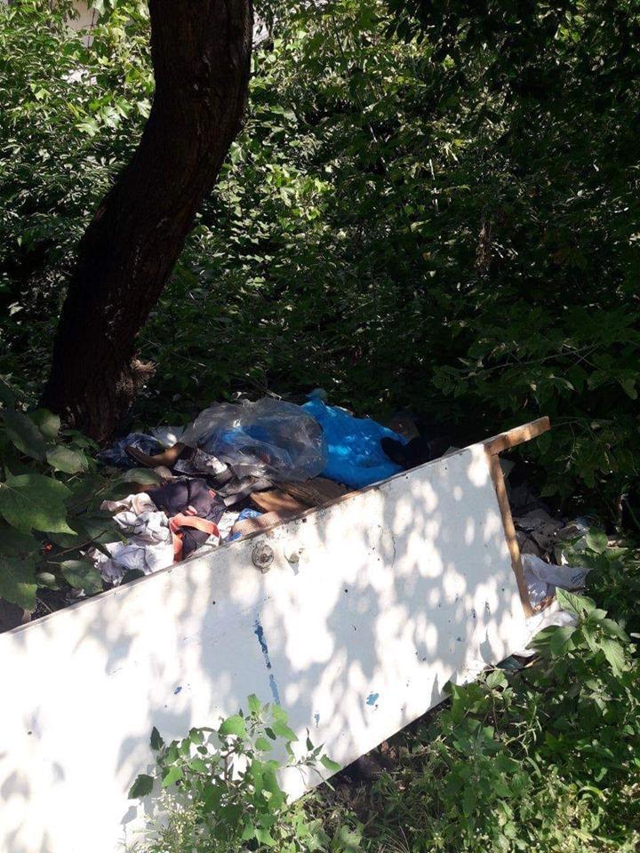 У Луцьку чоловік впродовж двох років складав сміття на території загального користування