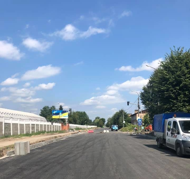 Коли у Луцьку завершать ремонт Ківерцівського перехрестя