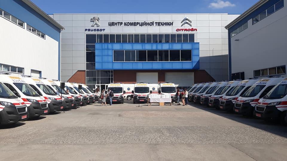 Волинський обласний центр екстреної медичної допомоги отримав ще один новий автомобіль. ФОТО