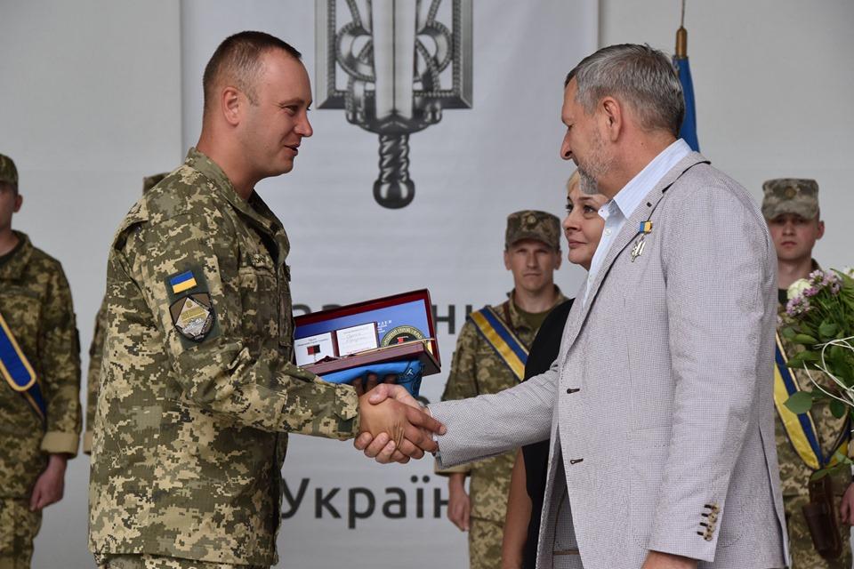 Бійця волинської бригади нагородили орденом