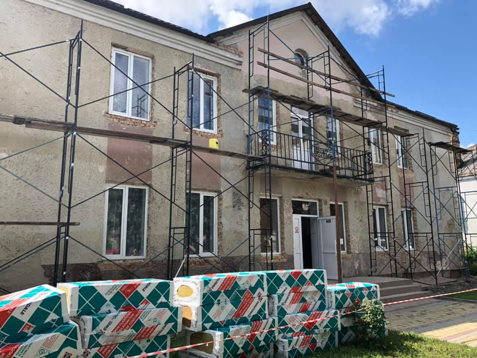 У Луцьку розпочався капітальний ремонт Луцької вечірньої школи. ФОТО