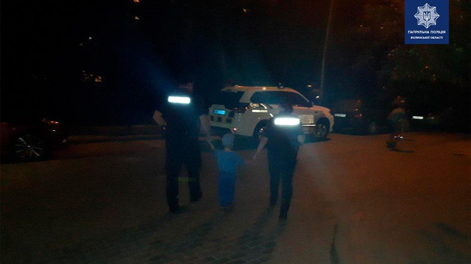 У Луцьку патрульні оперативно знайшли дитину, яка загубилася