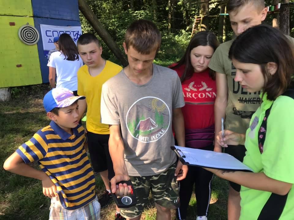 На Волині у таборі «Сонячний» провели спортивно-масові заходи за програмою «Олімпійське літо». ФОТО
