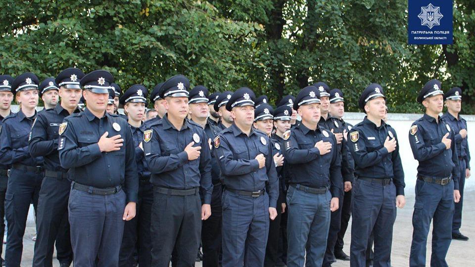 У Луцьку поповнилися лави патрульної поліції. ФОТО