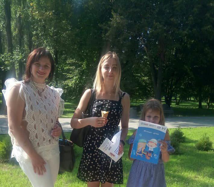 У Луцьку в рамках проєкту «Я маю право» проводили цікаве спілкування із дітками. ФОТО