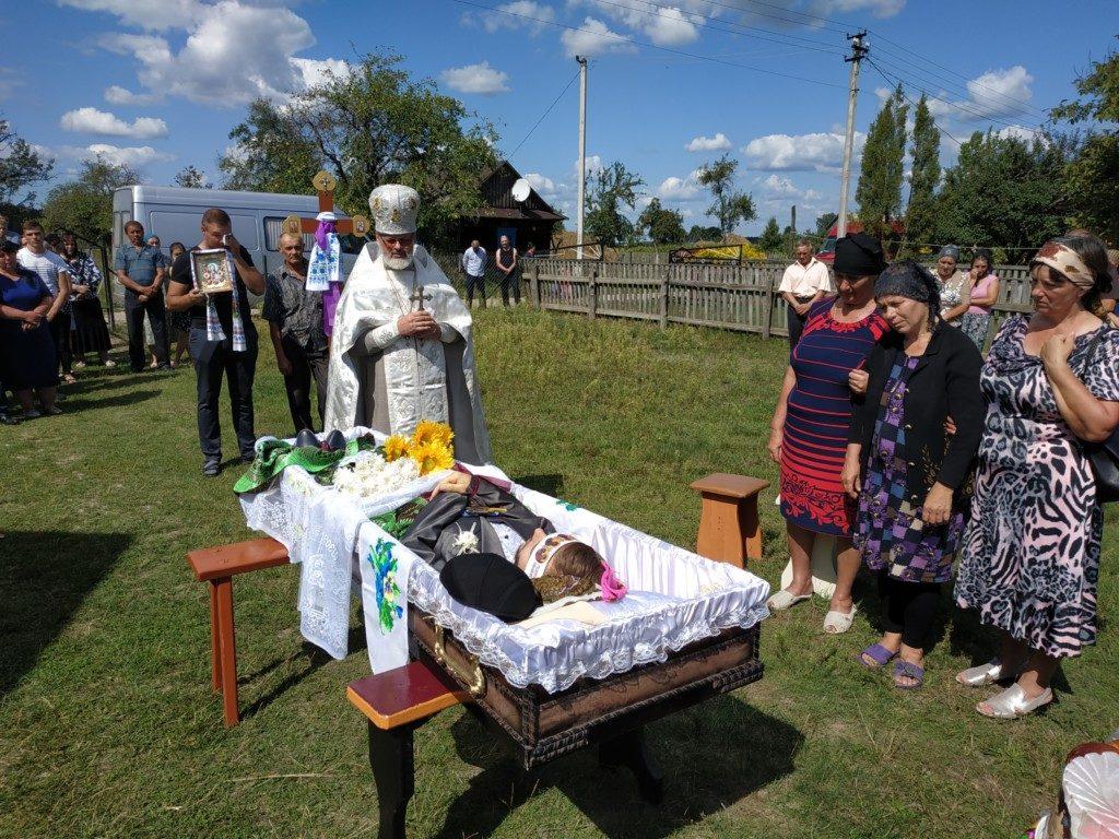 Поховали учасника АТО Андрія Приходька, який трагічно загинув на Волині