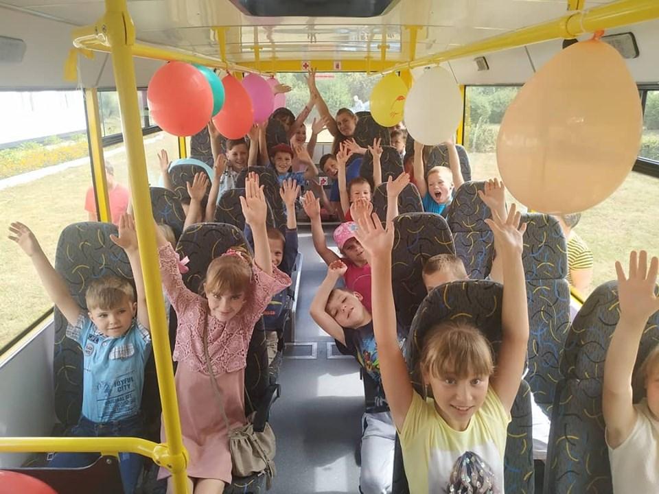 На Волині для школярів придбали новий автобус
