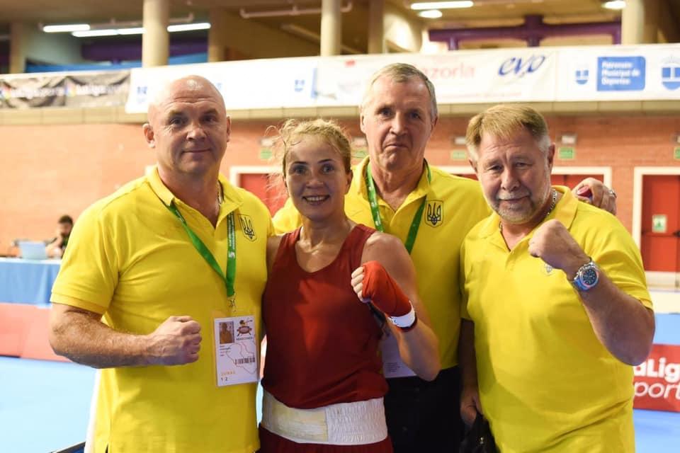 Волинська боксерка здобула перемогу у бою на чемпіонаті Європи
