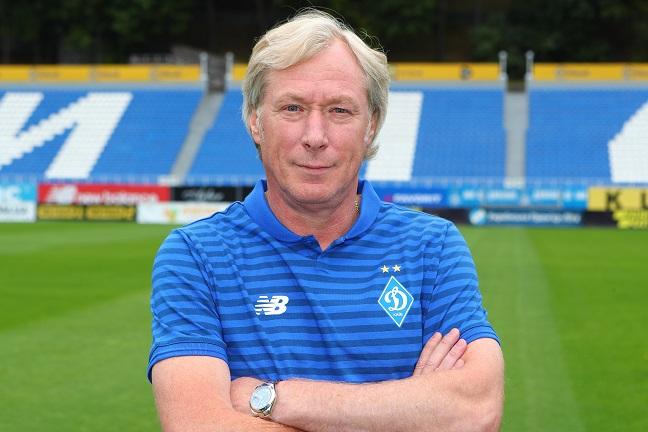 У футбольного клуба «Динамо» з'явився новий тренер