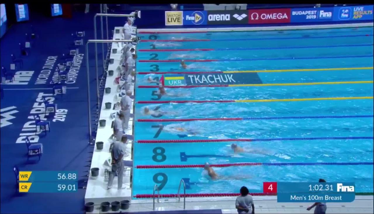Луцький плавець встановив новий юнацький рекорд України з плавання. ФОТО