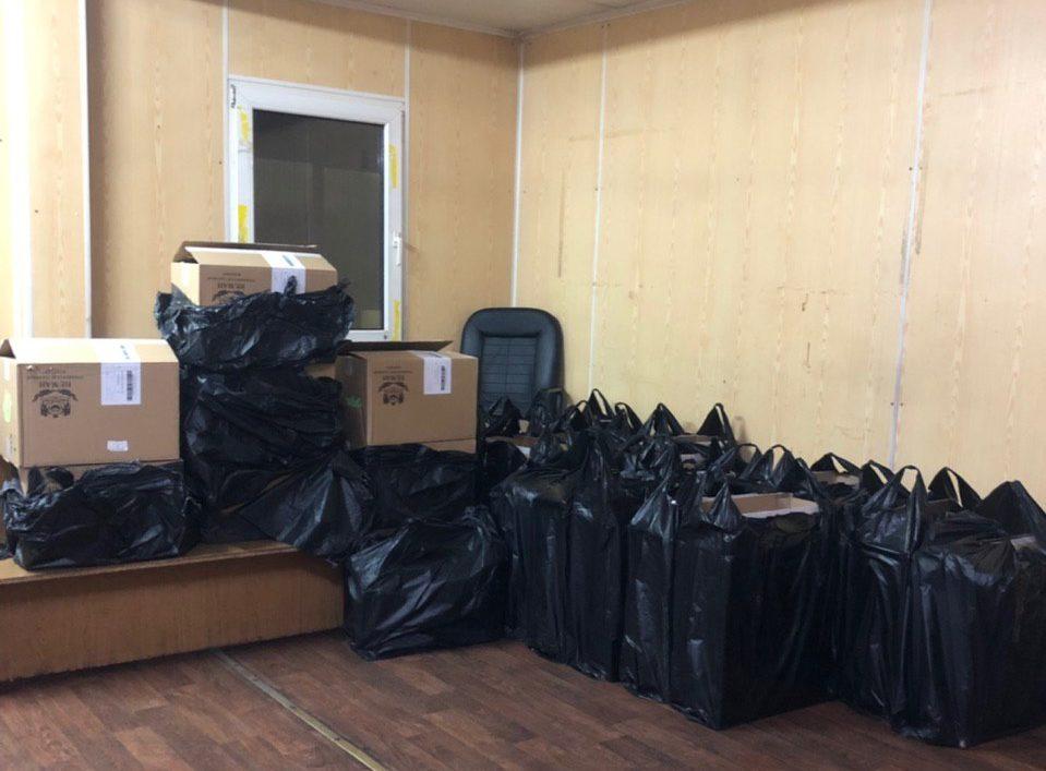 На Волині митники припинили спробу контрабанди 14 тисяч пачок цигарок