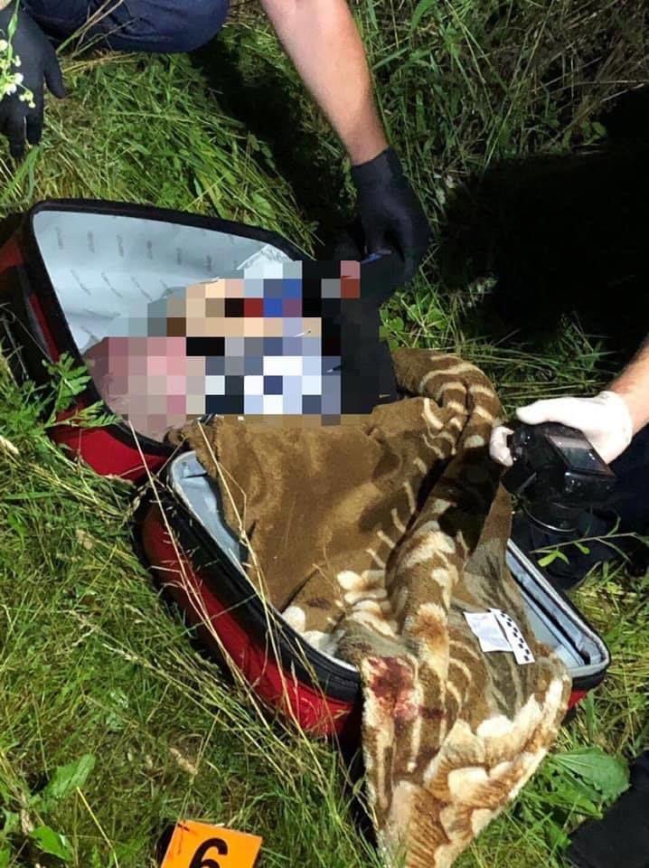 Затримали жінку, яка викинула свою мертву дитину у валізі