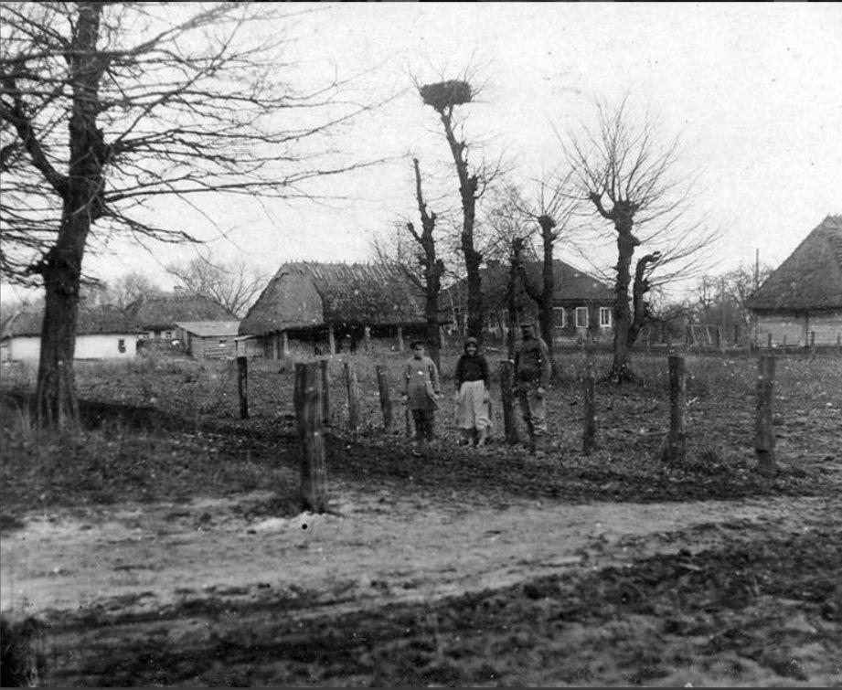 Як виглядало волинське село понад 100 років тому. ФОТО